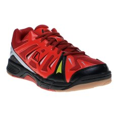 League Altius Sepatu Badminton - Jester Red-Flame Scarlet-Hitam