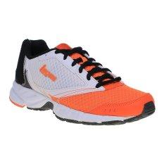 League Legas Series Tracer LA Sepatu Lari Pria - Vibrant Orange-Putih