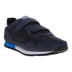 League Strive  Jr Sepatu Sneakers - Nine Iron-Briliant Blue-Clou