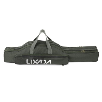 Lixada 100cm/130cm/150cm Fishing Bag Portable Folding Fishing Rod Reel Bag Fishing Pole Gear Tackle Tool Carry Case Carrier Travel Bag Storage Bag Organizer - intl