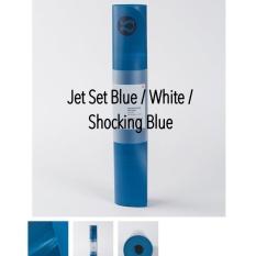 lululemon yoga mat 5mm / the reversible mat 5mm original from australia - jet set blue color