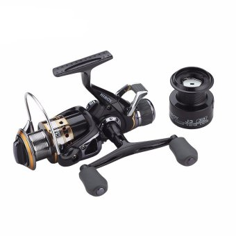 Lurehunter J3FR5000 Metal Spool Left/Right Exchangeable Handle CarpFishing Reel 9+1BB Spinning Reel with 1 Spare Spool