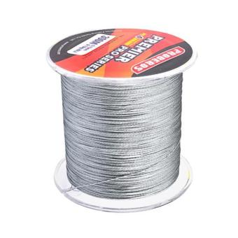 MagiDeal Super Strong 300M 0.5mm 80LB PE Braided Sea Fishing Line Grey