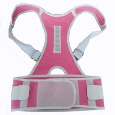 Magnetic Back Posture Corrector Back Shoulder Support Brace Belt Back Posture Correction Belt XL - intl