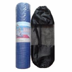 Matras Yoga Ketebalan 8mm Free Tas Jaring