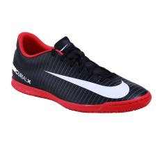 Nike Mercurialx Vortex III IC Sepatu Futsal Pria - Black/White/Dark Grey