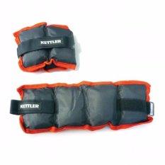 Nylon Ankle / Wrist Weights 2.5kg / Pemberat Kaki 2.5kg Kettler
