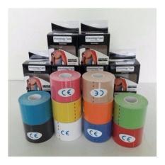 ORIGINAL Kinesio tape/Kinesiology tape for sport & theraphy - Merah muda