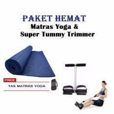 Paket Hemat Matras Yoga Dan Super Tummy Trimmer