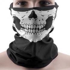 PAlight Olahraga Leher Masker Penutup Wajah Tengkorak Bersepeda