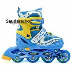 Power Superb Sepatu Roda Inline - Biru