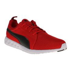 Puma Carson Mesh Men's Running Shoes - High Risk Red-Puma Black