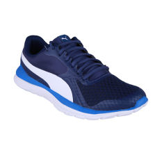 Puma FlexT1 Running Shoes - Blue Depths-Puma White-Lapis Blue