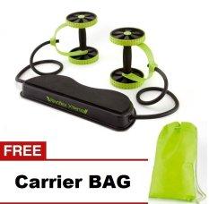Revoflex Xtreme Alat Olahraga Portabel - Hijau + Gratis Carrier Bag