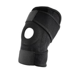 Selamat Yg Dpt Mengatur Tali Pengikat Elastis Tempurung Lutut Olahraga Kuatkan Dukungan Hitam Neoprena Lutut