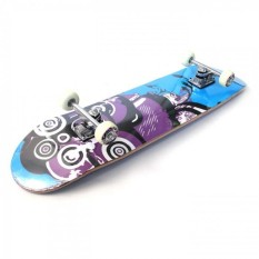 Silverfox Skateboard Maple 31X8 Inch Radical Rider LY-3108AA-A