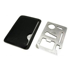 SNTA Stainless Steel Mini Pocket Multi Tool Card Emergency Survival/camping/outdoor Pocket Blade-Snta