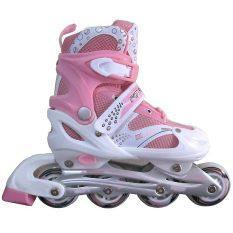 Sport Power Line Sepatu Roda Anak - Pink
