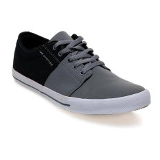 Spotec Edward Sepatu Sneakers - Abu-abu Tua-Hitam