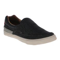 Spotec Jefry Sepatu Sneakers - Black/Off White