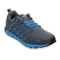Spotec Storm Sepatu Running - Dark Grey-Blue