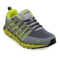Spotec Storm Sepatu Running - Dark Grey-Citron
