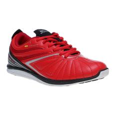 Spotec Zeus Latin Sepatu Sneakers - Merah-Hitam