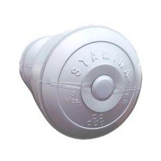 Stamina dumbbell Plastic 5 kg Silver