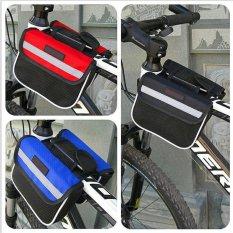 Tas Organizer Sepeda Frame Double Bag - Perlengkapan Aksesoris Sepeda