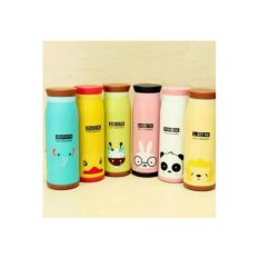 Termos Botol Minum Karakter Animal 500 ML (Thermos Memo Bottle)