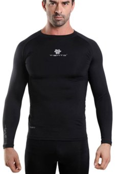 Tiento Baselayer Manset Long Sleeve Black Silver Original