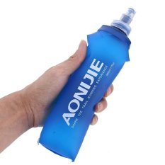 TPU Folding Soft Flask Sport Water Bottle for Running (500ml) - intl