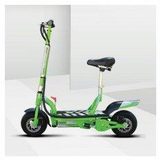 UberScoot 1000W 36V Electric Scooter - Hijau