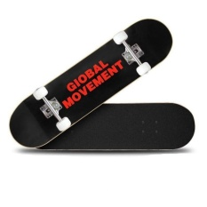 VOYAGE New Skateboards Long board Four round Adult and childrenVitality board Unisex(Black and Red)   - intl