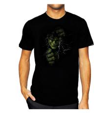 11gfn T-Shirt 3D HULK - Hitam