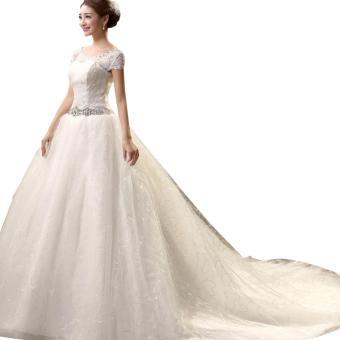 1602002 Gaun Pengantin Putih Wedding Gown Wedding Dress