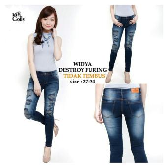168 Collection Lazada co id Source · 168 Collection Celana Lidya Distro Jeans Biru