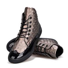 2016 Winter Fashion Shoes Men Boots (Brown)