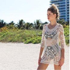 2017 Autumn Hot Sell New Europe Sexy Sweater Bikini Blouse Dress - intl