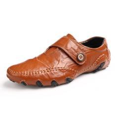 2017 Fashion British Fashion Trend Sets Of Men's Shoes (Brown) - Intl