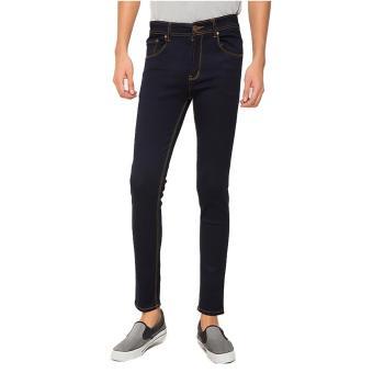 2Nd RED 133205 Slim Fit Straight - Biru Hitam