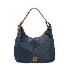 360WISH ROSE NOIRE Fashion Women Leisure Printing Waterproof Nylon Handbag Shoulder Bag Crossbody Bag - Sapphire