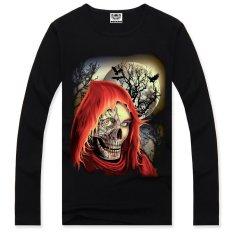 3D Men's Long-sleeved T-shirt Printing Cotton Long-sleeved T-shirt Campaign