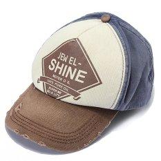 Adapula Surat Retro RUU Melengkung Solid Mencuci Topi Golf Topi Baseball Bola Kapas