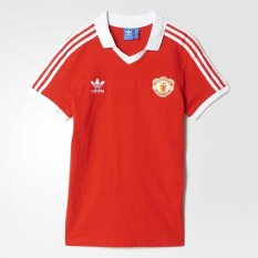 Adidas Manchester United Retro 1980 Jersey by Adidas Originals Merah