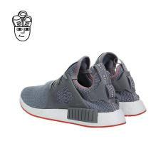 Kids Adidas NMD XR1 Primeknit Glitch Camo London Black