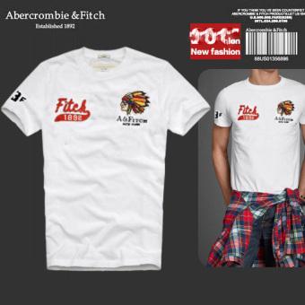 AF Men's Casual Fashion Slim Cotton Short-sleeved T-shirt - Intl