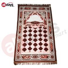 Alldaysmart Sajadah Motif Bagus C11 - Brown Ukuran 110x68 cm