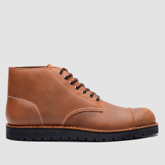 Alpha Vintage Brown Black Sole