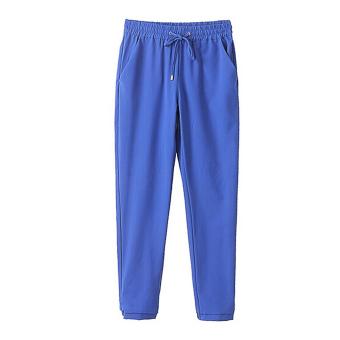 Amart Fashion Chiffon Pants Casual Harem Elastic Waist Pants